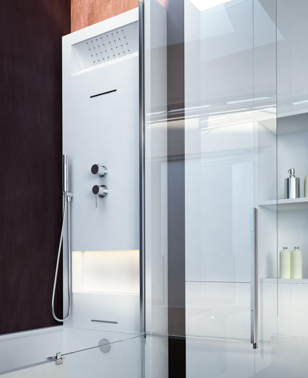 Elle Combi Elle Door Shower Amp Bath In Hardlite With