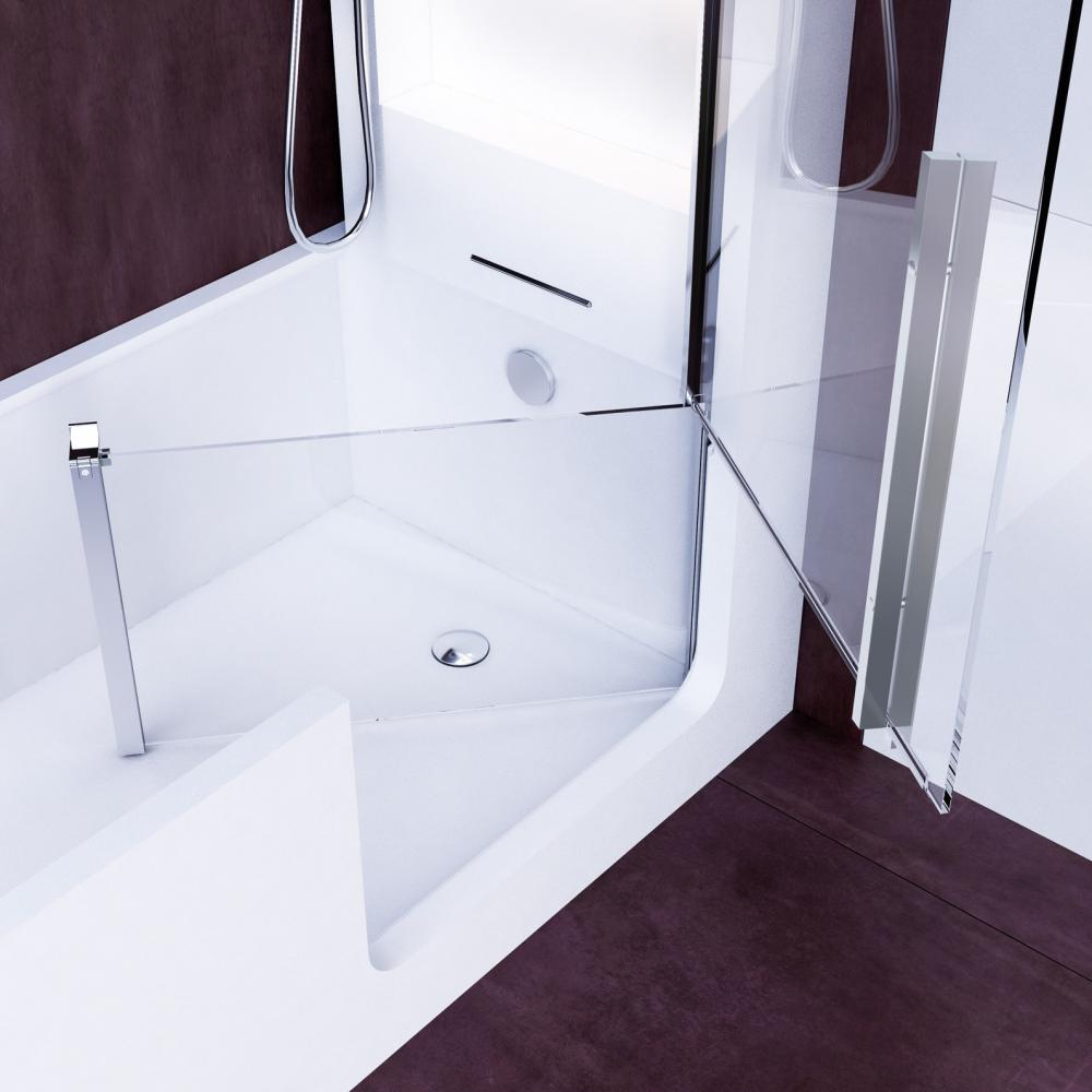 Elle Combi Elle Door Shower Amp Bath In Hardlite With