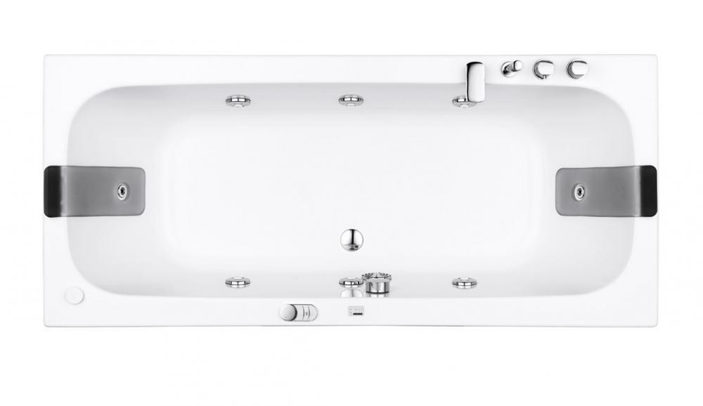 Pop rectangular, corner and asymmetric bathtubs, with ...