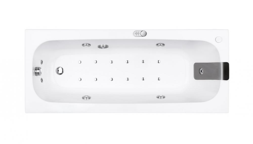 Pop Rectangular Corner And Asymmetric Bathtubs With
