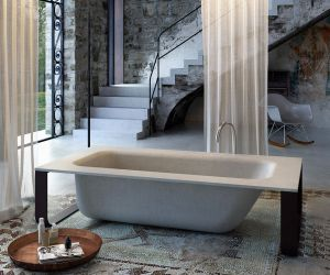 Bathtubs - concrete bath