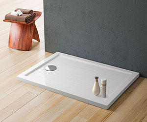 Shower Trays and Wall Panels - flat