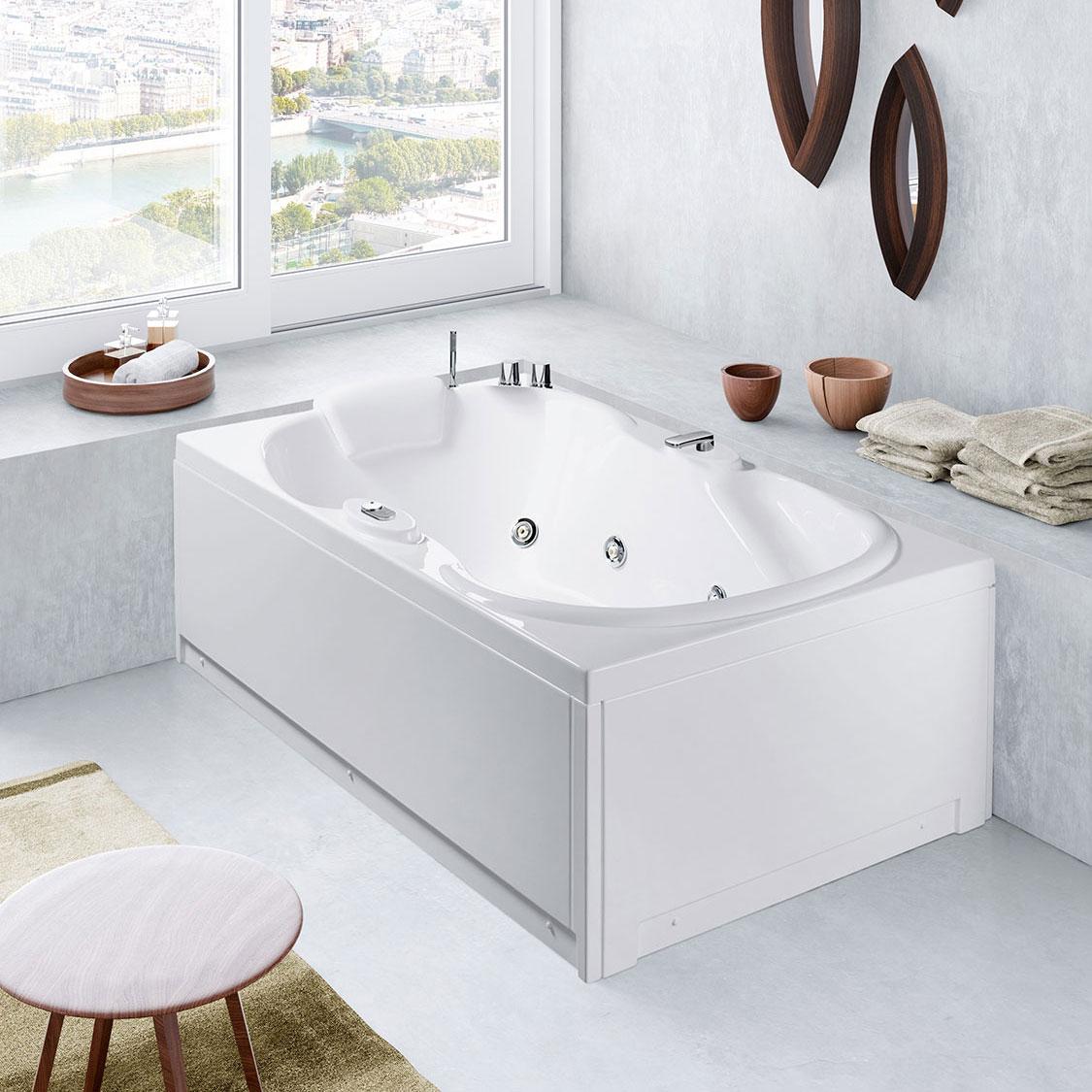 Lis Rectangular Corner And Asymmetric Bathtubs Bathtubs