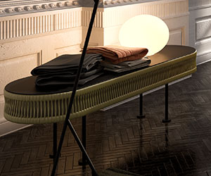 Furnishings Accessories - Bench Pearl