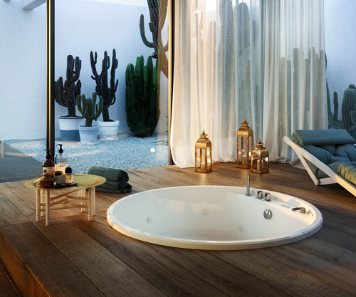 Bathtubs - nubea round