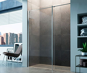 step-in ff Glass1989  shower enclosures